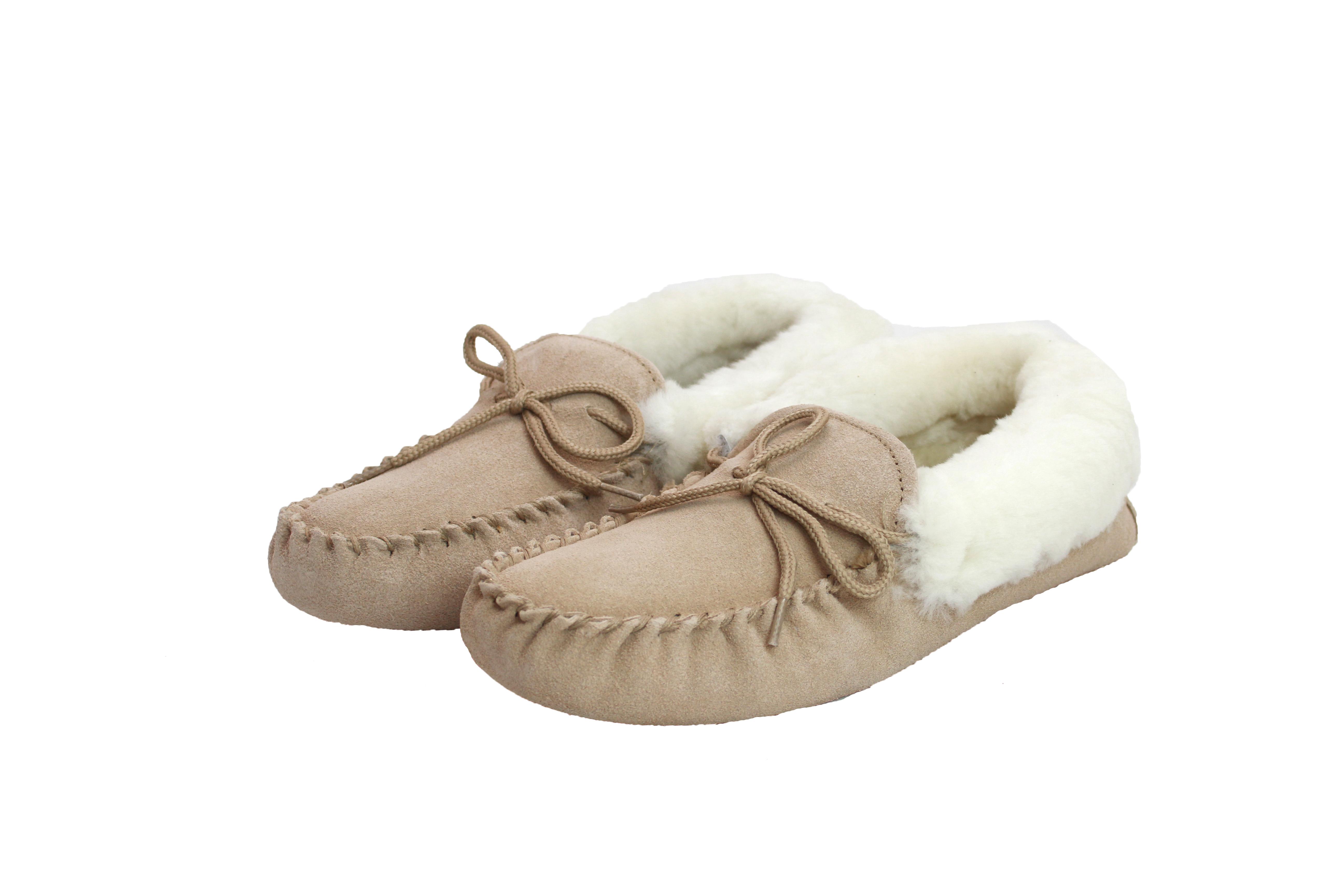Ladies Soft-Sole Sheepskin Moccasin – LSM1