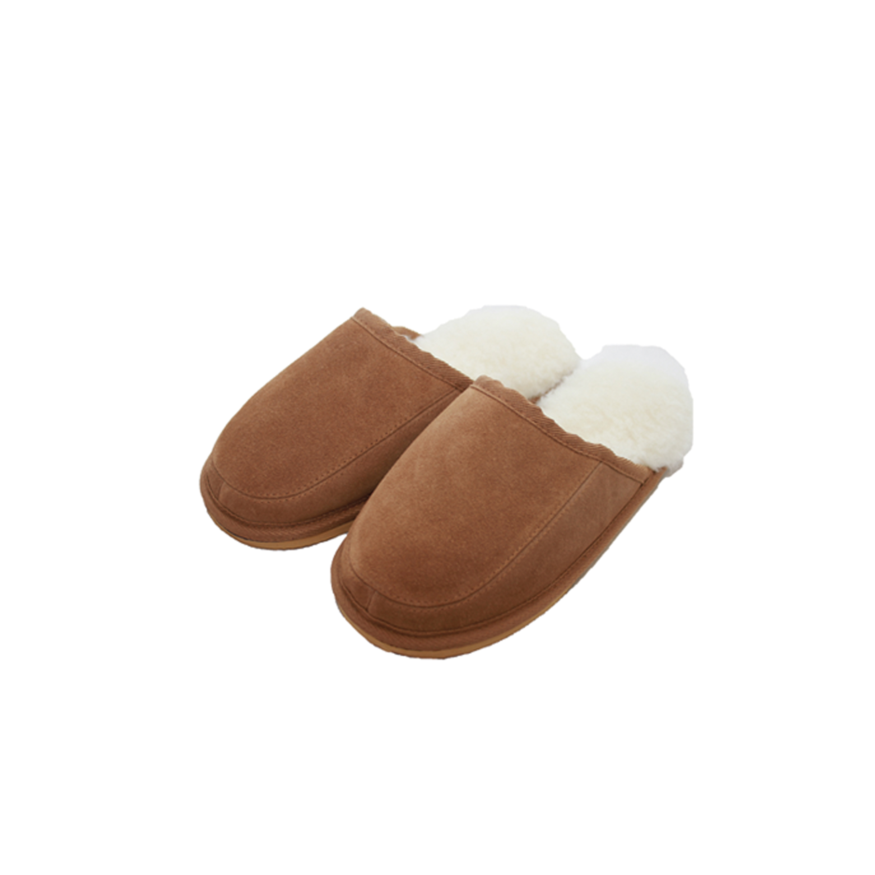 Wool lined slipper mule – James